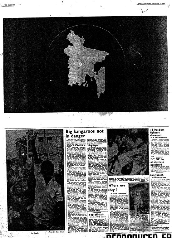 Bangladesh Observer, December 18, 1971