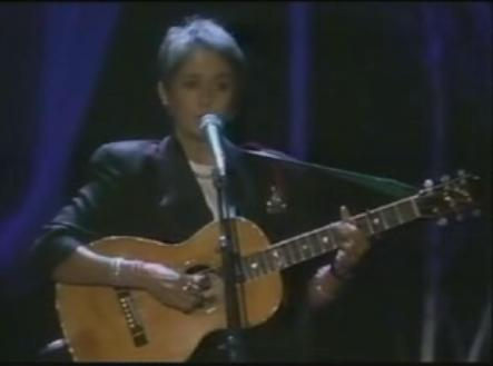 Joan Baez performs Forever Young