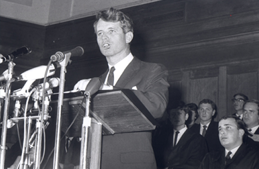 Robert F Kennedy at Cape Town