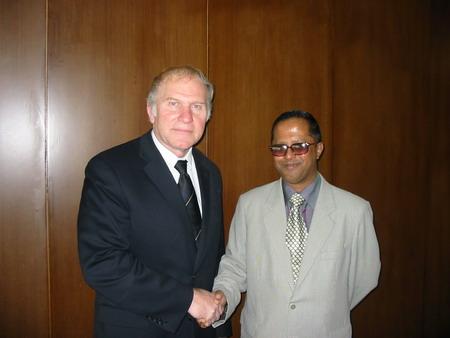 Congressman Steve Chabot with Salah Uddin Shoaib Choudhury
