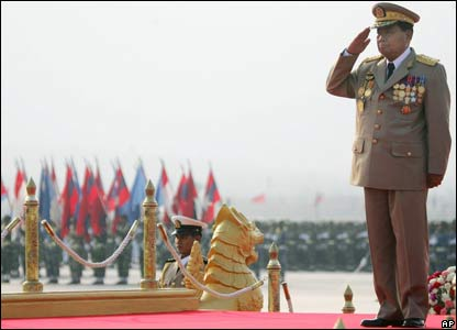 The thug who rules Burma: Senior General Than Shwe